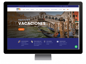 sitio web Dominican Travel Solutions