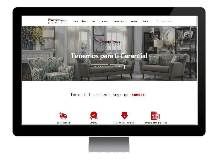 sitio web Money Home RD