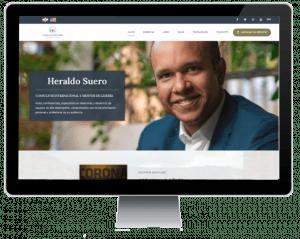 sitio web Heraldo Suero