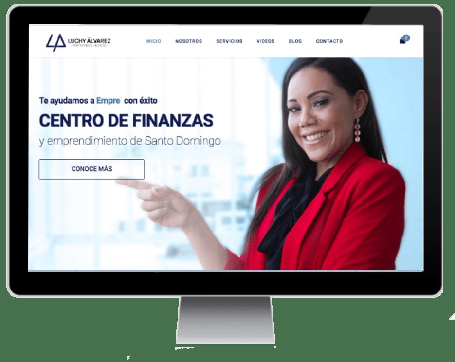 Web luchyalvarezfinanzas.com